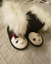 Gymboree Penguin Chalet Fur Boots 4