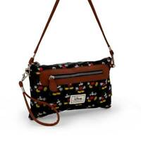 Borsa Tracolla Topolino Mickey DISNEY Donna Woman Shoulder Bag 28x17 cm nero ...
