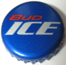 BUD ICE used Beer CROWN Bottle CAP, Anheuser-Busch, St Louis, MISSOURI Budweiser