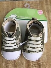 Circo newborn camo shoes