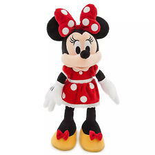 Disney Store Minnie Mouse Plush Red Polka Dot Dress Toy Original