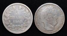 5 Francs Louis Philippe 1er 1942W Lille - Argent/Silver 24.70 gr