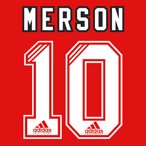 Arsenal Name Set 93-94 Home Shirt ANY NAME/NUMBER Parlour Merson Adams Wright