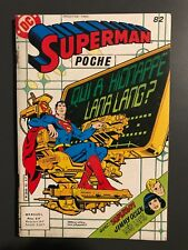 SUPERMAN POCHE (Sagedition) - T82 : juin 1984