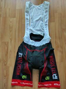 Alé Men's Professional Cycling Bib Shorts MTB Team Bagheria  Size: L-4-50