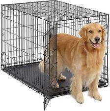 42 inch Jaula De Metal Para Perros Y Gatos Large Dog Size Animals Crate Black