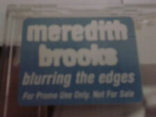 Meredith Brooks - Blurring the Edges RARE CD promo 1997