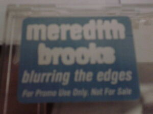 Meredith Brooks - Blurring the Edges RARE CD promo 1997