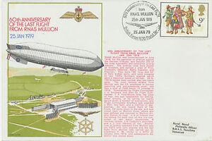 """GB 1979 """"60th Anniversary of the Last Flight from RNAS. MULLION 25th JAN 1919"""""""