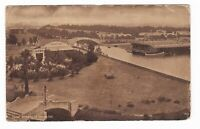 1911 VENICE CA CANAL STREET PANORAMIC VINTAGE POSTCARD CALIFORNIA GUILFORD MAINE