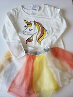 The Children's Place TCP Toddler Girls 3T Outfit Shirt Tulle NWT Party Unicorn