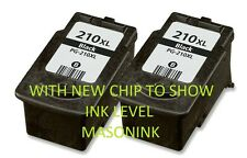 2PK Canon PG-210XL Black Ink Cartridge For Canon PIXMA MP250 MP270 MP280 Printer
