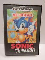 Sega Genesis Sonic The Hedgehog Not For Resale Copy  101819DBT2