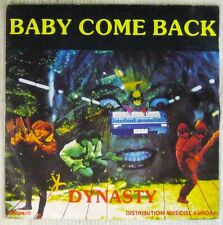 "Dynasty French 7"" SP Baby come Back Electro Funk"