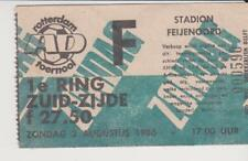 Sammler Used Ticket / Entrada Feyenoord Rotterdam AD Tournooi 1986 03-08-1986