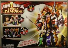 Power Rangers Super Samurai Megazord Gift Set Bull Clawzord 7 Zords Combine HUGE