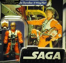 Star Wars Vintage Retro ANH Luke Skywalker X-Wing Pilot MOC Unpunched TVC Figure
