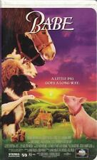 Babe VHS, 2000, Clam Shell Universal A Little Pig Goes a Long Way