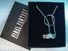 Final Fantasy VIII 8 FF8 Double Ring Rinoa Necklace