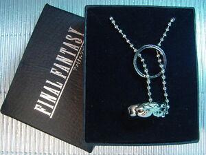 Final Fantasy VIII 8 FF8 Double Ring Rinoa Necklace
