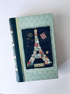 PUNCH STUDIO PARIS. EIFFEL TOWER. faux book box. STASH BOX. Travel. LAST ONE!