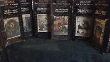 Jim Beam Decanter Beam's Bicentennial Bourbon Saturday Evening Post Set of 6