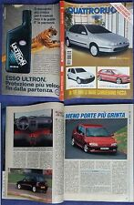 QUATTRORUOTE Ferrari F1 Fiat Tipo Alfa 33 Volkswagen Golf #f