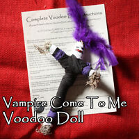 Vampire Come To Me Transformation Blood Doll Dracula Lestat Ritual Totem