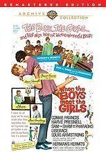 WHEN THE BOYS MEET THE GIRLS - (RMST) Region Free DVD - Sealed