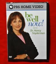 BRAND NEW Be Well Now Dr. Nancy Snyderman WS DVD As Seen on PBS Cheap Postage