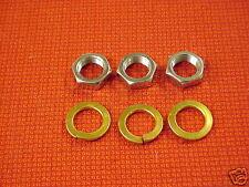 .669 x 20 Alternator Generator Nut & Lock Fits Delco Ford Alternator Generator