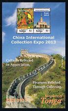 Kingdom of Tonga - China International Collection Expo 2013 Souvenir Sheet