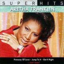 FREE US SHIP. on ANY 2 CDs! NEW CD Aretha Franklin: Super Hits: Aretha Franklin