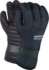 SeaSoft Stealth 5 Gloves Scuba Diving Snorkeling 5mm SM NEW