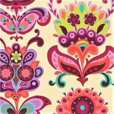 Bright heart - Folk Bloom Natural by Amy butler cotton quilting fabric