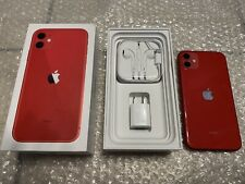 Apple iPhone 11 (Product)Red - 64Gb (Metro/T-Mobile) Clean w/ Accessories Bundle