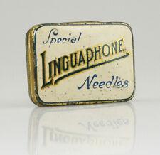 LINGUAPHONE 'Special Needles' Gramophone Needle Tin, with needles (AA8)