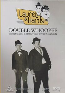 DOUBLE WHOOPEE DVD INC 3 SEPARATE SHORTS GENUINE REGION 4 AUST NEW AND SEALED