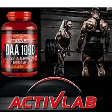 Activlab daa 1000, gh testostérone booster, d-aspartic acid 4000 mg. free p&p