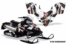 AMR Racing Sled Wrap Polaris Rush RMK Assault Snowmobile Graphic Kit 06-10 WRHWK