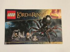 LEGO The Lord of the Rings 9470 Booklet/Instructions