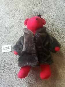 North American VIB Bear 1983 Lauren Bearcall Red Jacket (W/Tag) loose bow