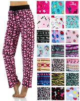 Casual Nights Women's Plush Fleece Lounge Pajama Sleep Pants