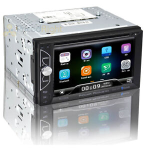 "Power Acoustik 2 DIN Head Unit Phonelink Bluetooth 6.2"" Display PD-620HB"