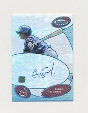 2003 Bowman's Best Baseball Eider Torres Blue Autograph only 50 Made