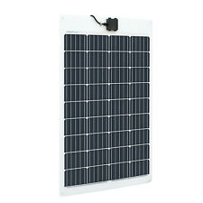 Panel Solar Flexible PV 100W para 12V 24V 48V RV Autocaravana Caravana fuera Red