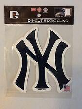 New York Yankees Die Cut Static Cling Decal Sticker 5 X 5 NEW!! Car Window