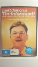 The Informant! [ DVD] NEW & SEALED, Region 4, FREE Next Day Post from NSW