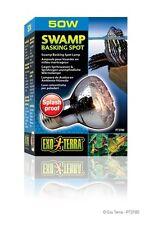 Exo Terra Reptile Swamp Basking Spot Lamp Glo Splash Resistant Bulb 50 W Light