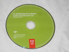 Classroom in a Book Adobe Dreamweaver CS5 Windows / Mac OS DVD Rom disc only